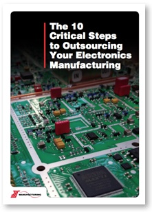 The 10 critical steps to outsourcing your electronics manufacturing